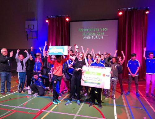 Van Leeuwen Catering sponsort verkiezing sportiefste school