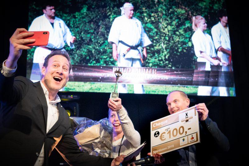 2019 02 18HeinAthmer8879 - Van Leeuwen Catering sponsort sportprijs Leidschendam-Voorburg 2018