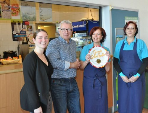 Lentiz | Groen van Prinstererlyceum heeft een gouden Schoolkantine Schaal!