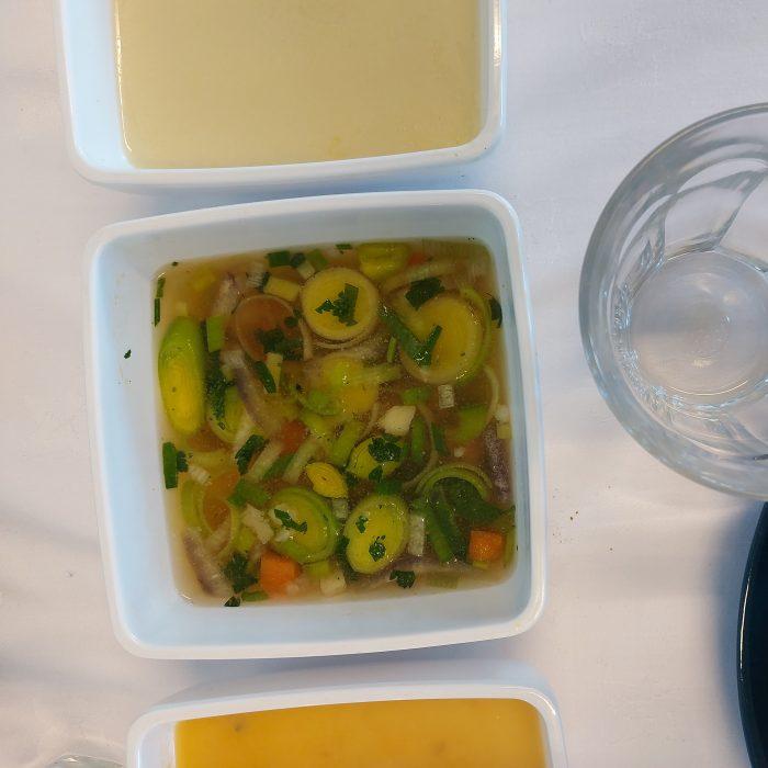 Huisgemaakte groentesoep