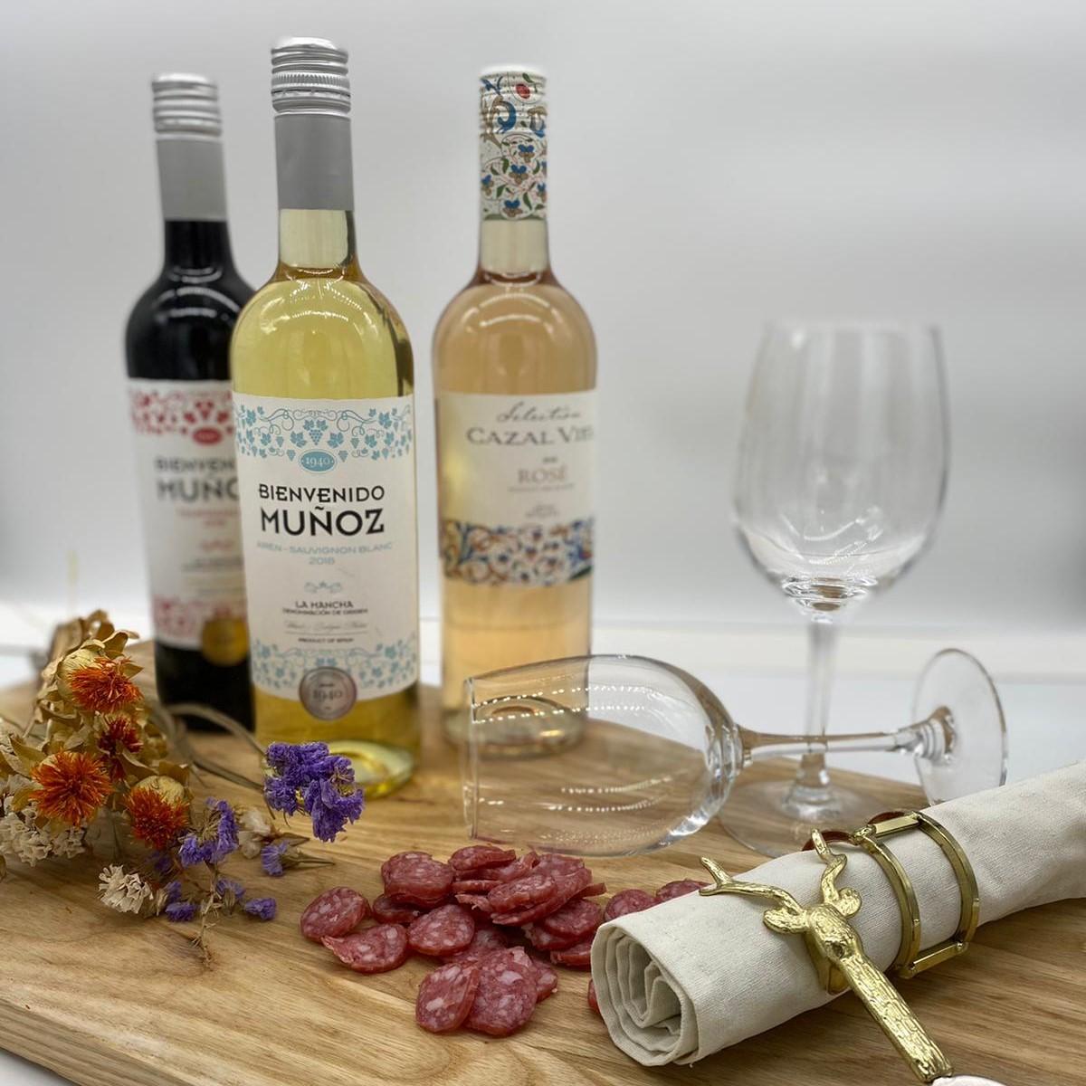 wijn 2  - Fles witte wijn (alleen icm box)