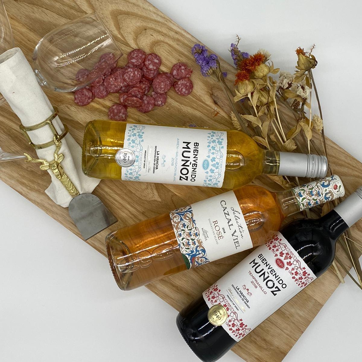 wijn 5  - Fles rode wijn (alleen icm box)