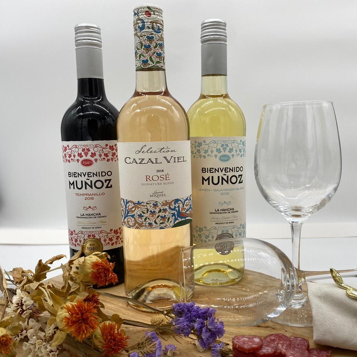 wijn 7  - Fles rosé (alleen icm box)