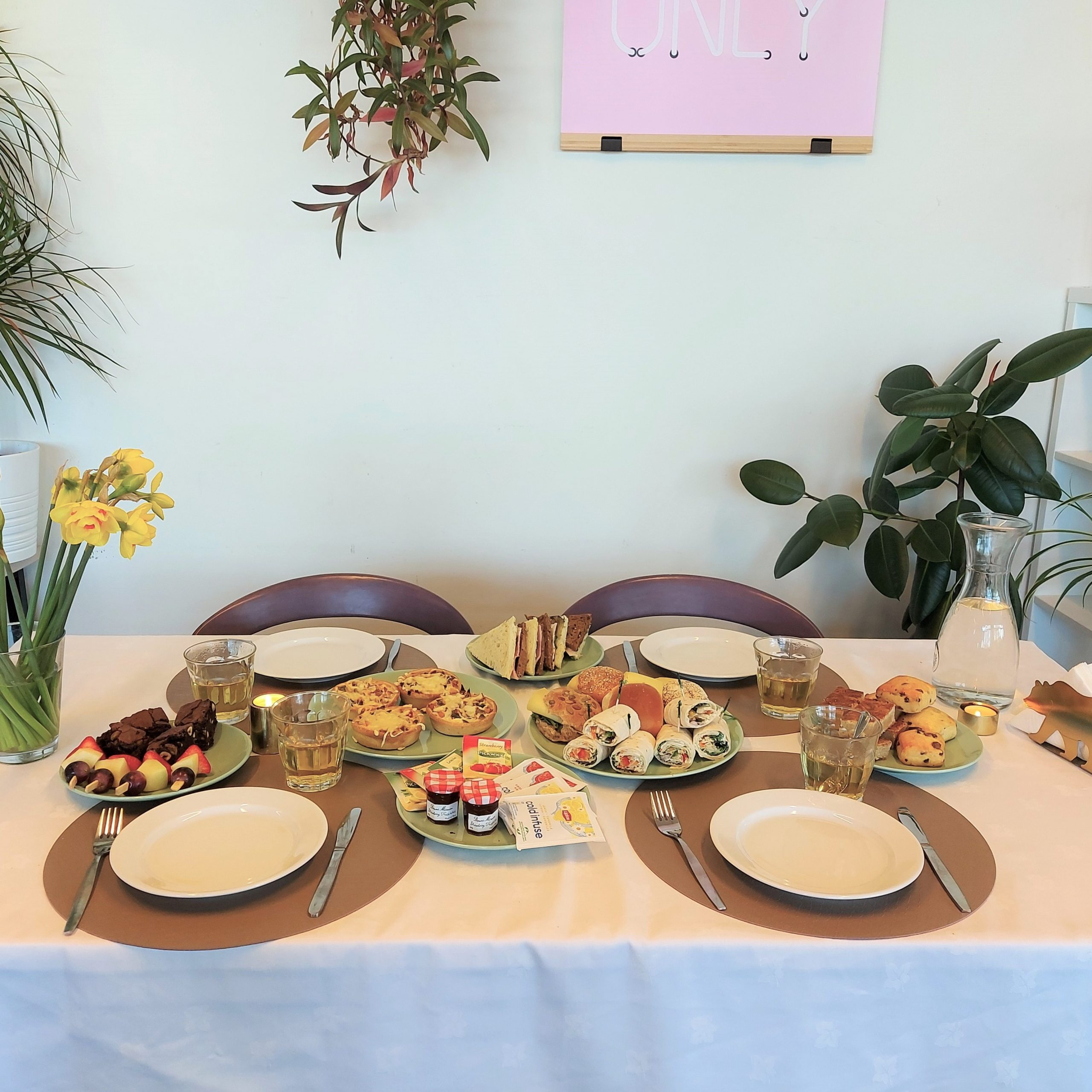 High-tea tafel